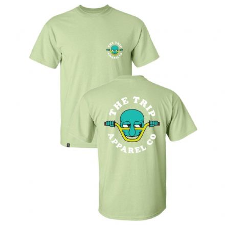 The Trip Kilroy T-Shirt - Pistachio Green Medium